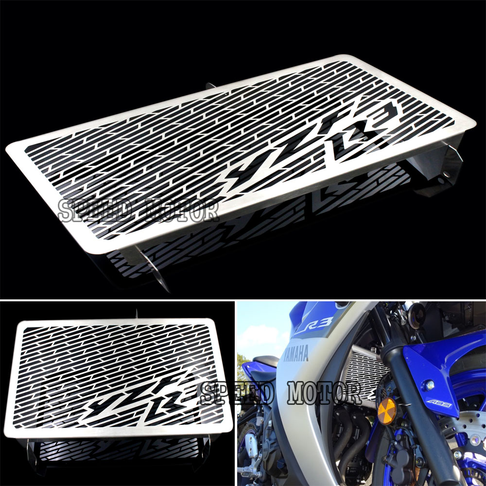 2017 New Arrival Stainless Steel Motorcycle Radiator Guard For Yamaha R3 2014 2015 2017 Free shipping<br><br>Aliexpress