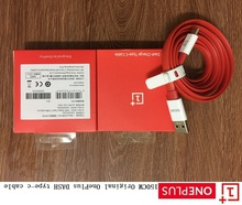 Original Oneplus flat Noodl Red 4A DASH Fast Quick charge data sync USB 3.1 Type-C cable For Oneplus Three FIVE T 1+ 3 3T 5 5T(China)