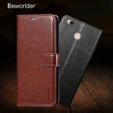 Beworlder For Xiaomi Redmi 4X Case Redmi4x Photo Frame Business Wallet Leather Case Card Slot Flip Cover For Xiaomi Redmi4X Case(China)