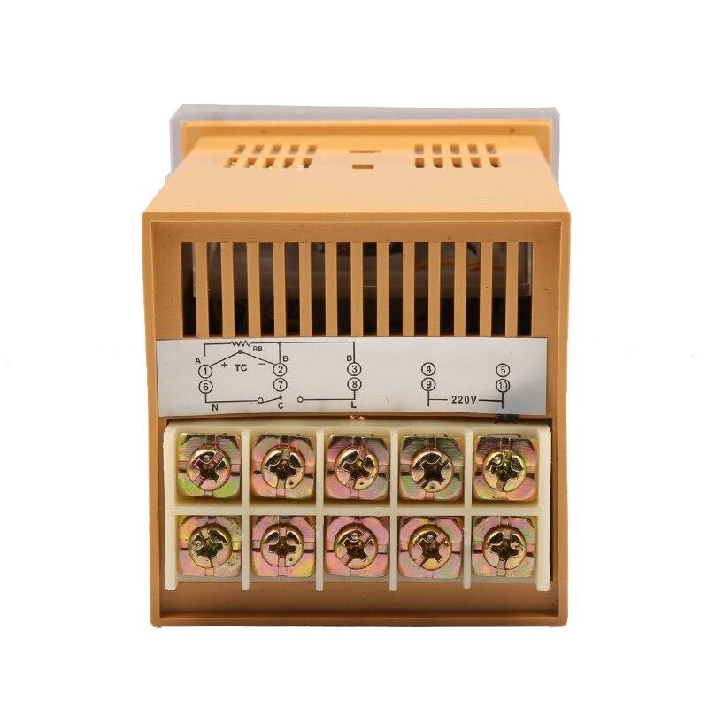 Указатель температуры TED 2001 термостат типа K 220 В/380 В 0 400 градусов по Цельсию|temperature
