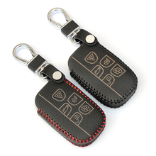 Fashion Handwork key wallet car leather key cover auto parts for Range Rover Evoque Discovery 3 4 Land Rover Free Dander 2 3