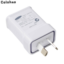 Colohas 2.0A AU Australia Plug Charger Travel Home Wall Charging Charger for Samsung Galaxy S8 S6 S7 Edge Plus S5 S4 Note 5 4 3