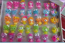 LED shine ring cute little girl shine cartoon ring mixedlot 35pcs/lot(China)