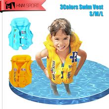 HNM SPORT Children Kids Inflatable Life Jackets Vest Child Swiwmsuit Safety Vest Drifting Swimming Suit for Girls and Boy(China)