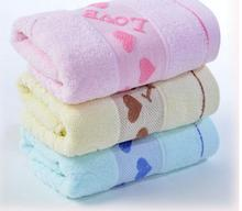 33*73cm High Quality Hand Face Towel Absorbent Soft Comfortable Heart Towel