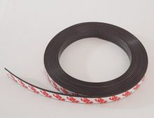 3 Meter Rubber Magnet 10*1.5 mm self Adhesive Flexible Magnetic Strip Rubber Magnet Tape width 10mm thickness 1.5mm(China)