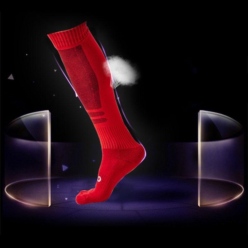 1-Pair-Men-s-Over-Knee-Socks-Football-Soccer-Legwarmers-Sports-Safety-Breathable-Mesh-Stretch-Hockey