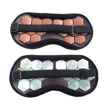 High Quality Eye Care Tourmaline magnetic therapy Anti-Fatigue Eye Massager Sleep/Travel Eyepatch Mask Eyeshade Mask Blindfold