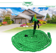 TALL TOP 25FT-100FT Garden Hose Expanding Magic Flexible Watering Hose Plastic Hoses Pipe With Spray Gun Tube Hoses for Cottages
