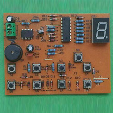 CD4511 8 Channel Digital Display Responder DIY Kit 8Bit Answer Device Suite For Electronic Training Parts DIY