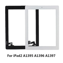 KEFU Original Tablet Touch Screen for ipad2 iPad 2 A1395 A1396 A1397 Digitizer 9.7 inch Glass Panel with Button + Tools