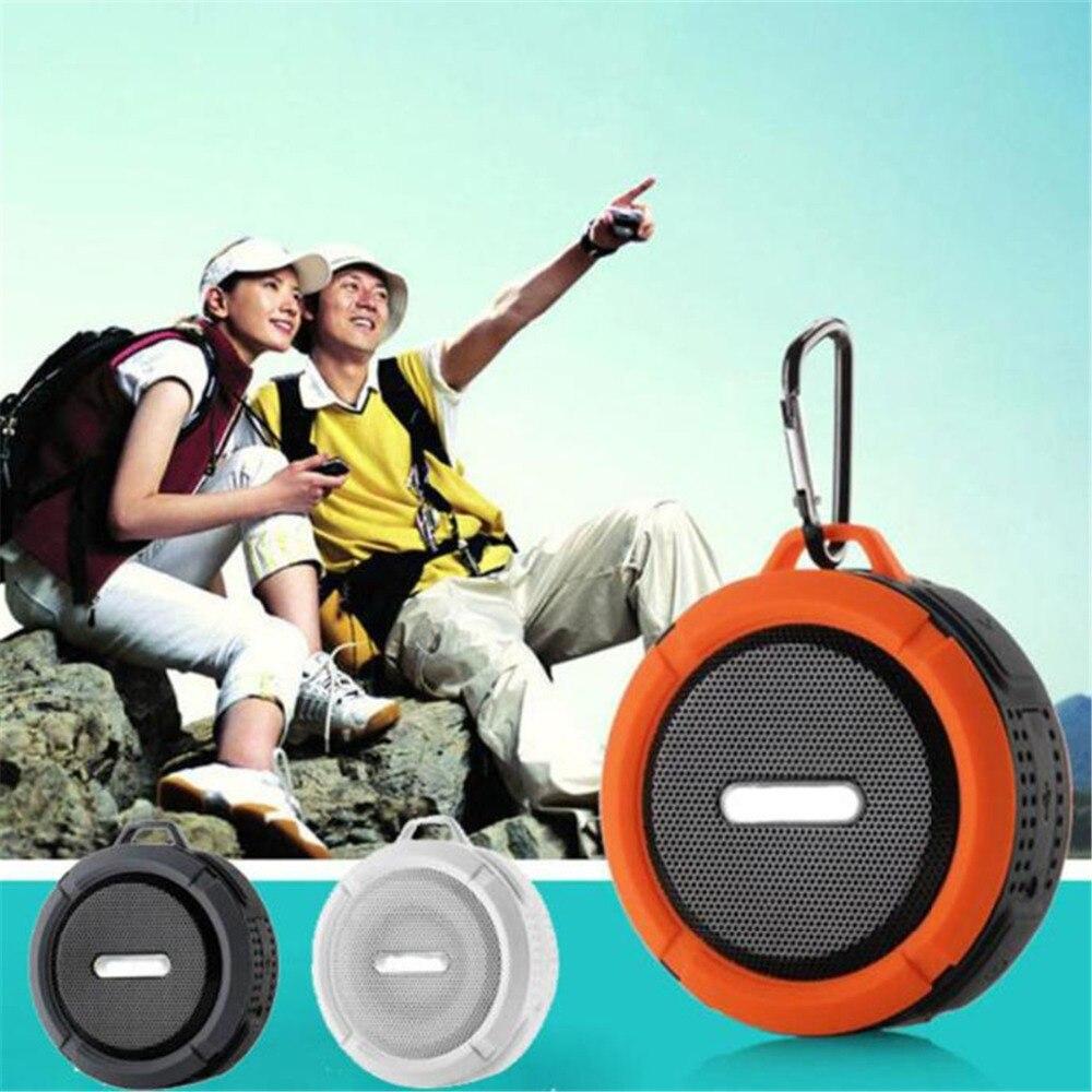 2017 NEW Hifi Outdoor Sport Car Portable Waterproof Shockproof Wireless Bluetooth Speaker For Iphone Smart Phones Radio FM