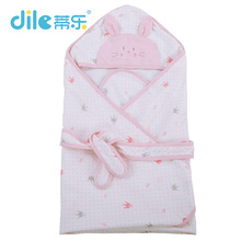 Dile Baby blanket newborn swaddle bedding Infant  breathable and comfortable  for newborns baby cobertor