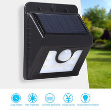 Lightme Solar Power LED Light Motion Sensor LED Wall Light 8 LEDs Garden Park Pathway Energy Saving Waterproof Led Lamp Outdoor