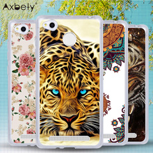 Brand Case For Xiaomi Redmi 3s Case Transparent Soft Silicone Cover For Xiaomi Redmi 3 S Pro 3 s Dog Girl Tiger Phone Cases Para
