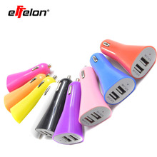 Effelon 5V 2.1A Mini Dual USB 2 Ports Car Charger Adaptor For iPhone 4 4S 5 5S 6 6plu for iPod Touch/samsung s3 s4 note4 note5