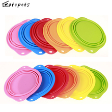 Pet Dog Portable Traveling Bowl Collapsible Feeding Cat Bowl  Silicone Water Dish Feeder travel  Water Drinking Bowl