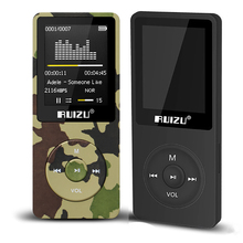 "1.8"" TFT Screen RuiZu X02 HiFi Reproductor Sport Music Mp3 Player FM Recorder Support TF Card(China)"