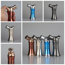 Jet turbo flame lighter,Metal shell windproof torch lighter(China)