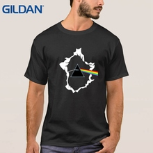 Creative Black Tee Shirt Pink Floyd The Dark Side Of The Moon Rock Roll Ali Shirt Mens Shop Best T Shirt Stranger