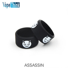 Buy 5pcs/lot electronic cigarette accessories Vapethink ASSASSIN Vape Band ring smok tfv8 tank tfv8 baby tank rubber vapeband for $4.99 in AliExpress store