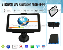 Xster free shipping 7 inch Car GPS Navigation Android 8G 512MB Bluetooth WIFI Russia /Europe map Truck gps Navigator car gps