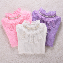 Baby Girl Clothes Children Clothing Shirts For Girls Blouse Ney Year Autumn Winter Thick Velvet Child Shirt Blusas Kids Clothes(China)