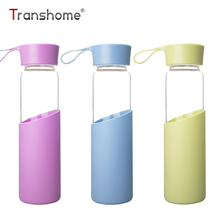 Buy Transhome Glass Water Bottle 320ml New Portable Creative Leak-Proof Seal Sports Drinking Water Travel Outdoor Sport Bottles for $9.86 in AliExpress store