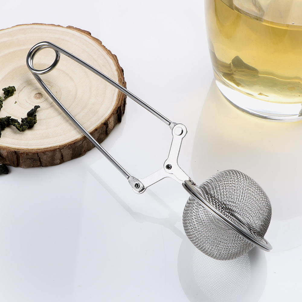 HILIFE Tea Infuser Stainless Steel Sphere Mesh Tea Strainer Coffee Herb Spice Filter Diffuser Handle Tea Ball 11