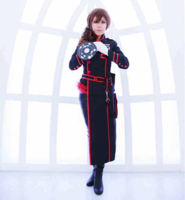 D.Gray-man HALLOW Miranda Lotto 3rd Uniform Cosplay Costume Halloween Uniform Outfit Coat+Pants Custom-made