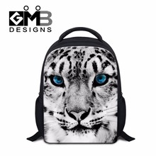 Tiger Backpacks for Little Kids Cool School Bookbags for Boys Preschool Bags Cute Leopard Backpacking Bag for Children Mochilas