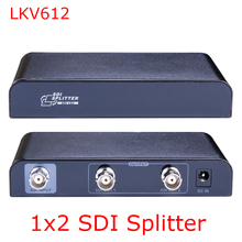 1x2 SDI Splitter Distribution Converter Repeater Extender SD/HD/3G up to 400M 1080P D-SDI,HD-SDI,3G-SDI Signal Extender(China)