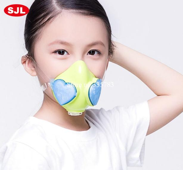 new style children respirator mask silicone fashion mouth mask PM2.5 dust anti pollution students children dust mask<br>