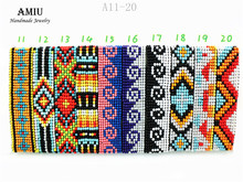AMIU Handmade Friendship Bracelet Bohemia Style Hippy Beaded Bracelet Rope Popular String Seed Beads Bracelets For Women Men