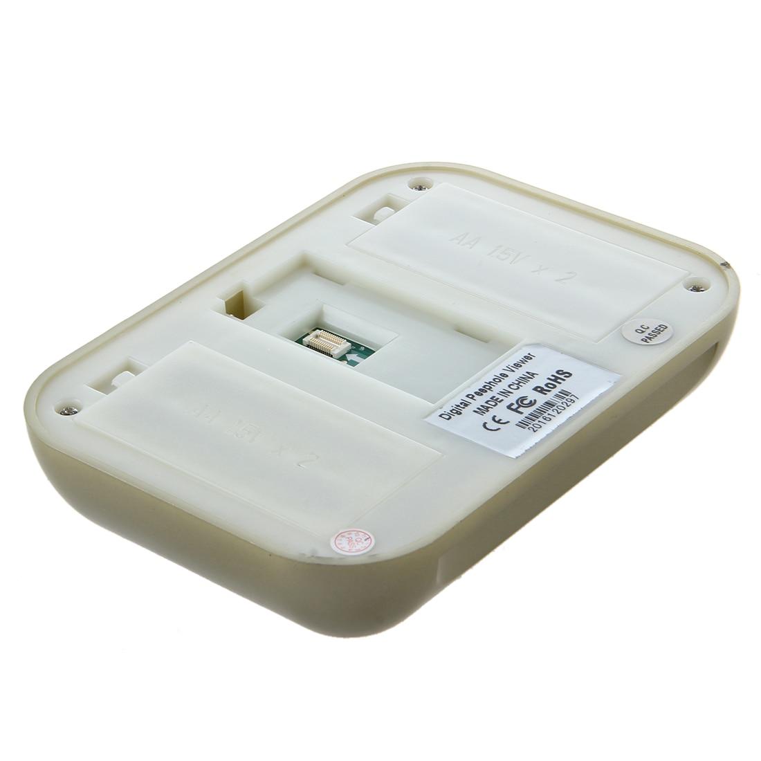 MOOL 3.5 LCD color display with video surveillance digital peephole camera doorbell<br>