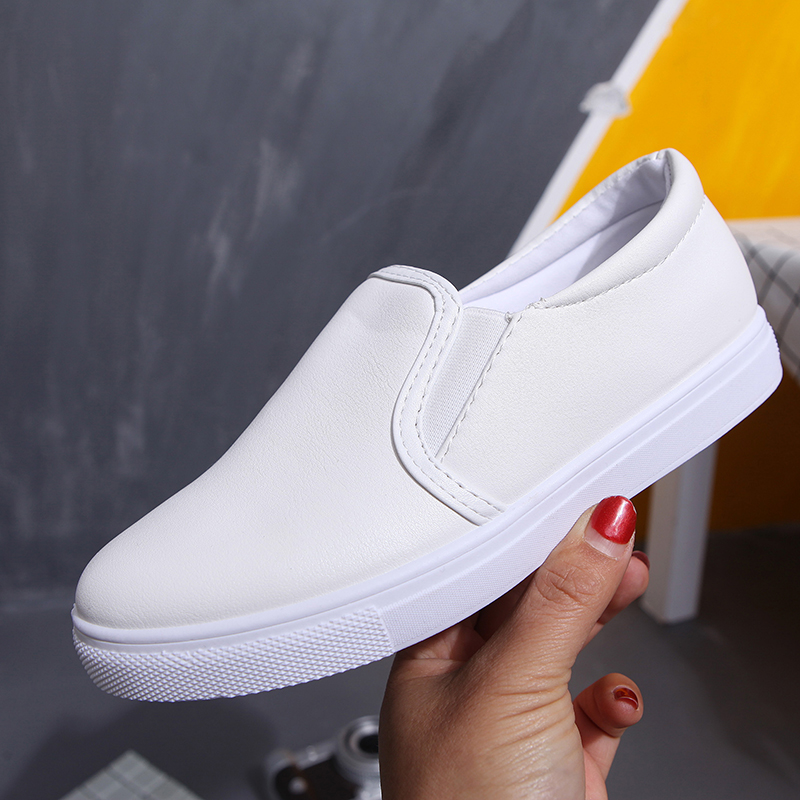 2017 Spring Autumn Flat Heel Leather Loafers Women Casual Round Toe Nurse Shoes Flats<br><br>Aliexpress