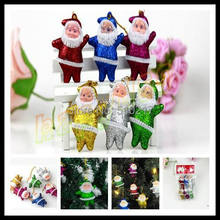 Christmas tree decorations Santa Claus pendant Father hanging ornaments Xmas Kriss Kringle decorative - huang aiping's store