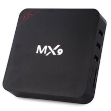 MX9 TV Box RK3229 Android 4.4 Quad-core 2.4GHz WiFi 1GB RAM 8GB Mini PC Smart Media Player with High Definition Pictures Videos