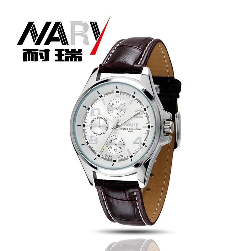 NARY Watches men luxury brand Business Watch quartz Watch sport men full steel wristwatches Casual clock relogio masculino 2016<br><br>Aliexpress