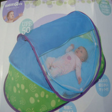 TRU Travel Portable Fold Baby Bed Tent With Cotton Polyester Fibre Steel Wire Frame