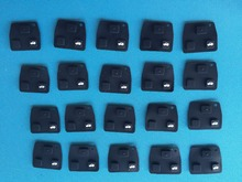 20 pcs/lot of 2 or 3 Buttons Car Remote Entry Key Fob for lexus Black color Rubber Pad Replacement For Toyota New