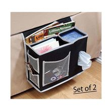 Bedside Storage bag Hang Sundries ,Magazines, phone,Tissue Holder Sofa Organizer Book TV Remote control Caddy