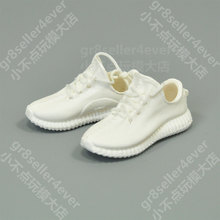 "1/6 scale female White Yeezy 350 Sneaker Boots shoes fit 12"" figure body#A(China)"