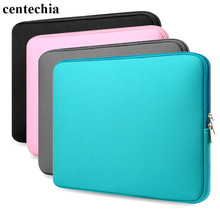 Centechia 2017 New Zipper Laptop Sleeve Case For 15.6 inch 15 inch 13 inch 11 inch Notebook Bag protector for Laptop PC