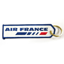 Air France Airline Keychain Luggage Baggage Tag British Airways