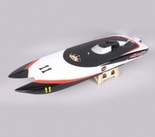 1107 Apparition Catamaran Electric Brushless RC Boat Fiberglass with 380-2858 KV2881 Two Motors, 70A Two ESC(China)