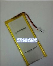 3.7V polymer lithium battery 5058130 handheld PC tablet 4200MAH Chong drilling special 5 Li-ion Cell