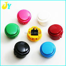 1pcs Free shipping 30mm Arcade Push Buttons Round Push Button Sanwa Type Arcade Start Button With Switch For Arcade Cabinet