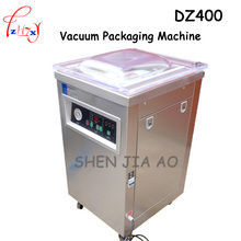 1pc Commercial DZ400 304stainless steel deepened single chamber vacuum packaging machine(China)