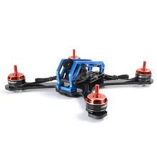New Arrival MANGO No.29 210mm 3K Carbon Fiber Frame Kit with CNC Aluminum Alloy Body RC Accessories(China)